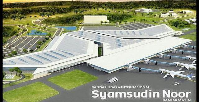 Selasa, Bandara Internasional Syamsuddin Noor Mulai Beroperasi Perdana